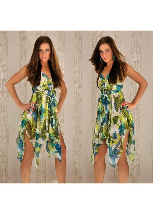 V tom případě se vám budou líbit šaty na jaro i letní šaty s barevnými  vzory. Letošním trendem jsou různé potisky 2fb95375fe